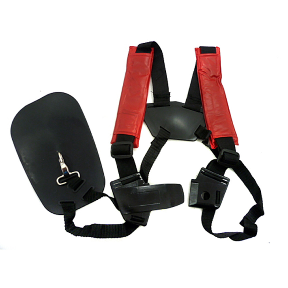 Shoulder Strap Adjustable Garden Trimmer Lawn Nylon Soft Universal Strimmer Mower Harness Quick Release Tools Padded Double