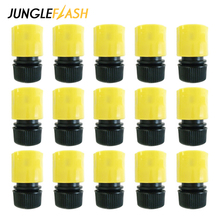 JUNGLEFLASH 1/2inch Quick Connector 16mm Garden Hose Water Gun Connector Drip Irrigation Adapter Watering Pipe Fitting Wholesale