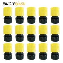 JUNGLEFLASH conector rápido de 1/2 pulgadas, 16mm, Conector de pistola de agua para jardín, adaptador de riego por goteo, accesorio de tubería de riego, venta al por mayor