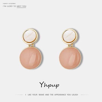Yhpup Korean Minimalist Round Geometric Candy Colorful Dangle Earrings Enamel Statement Jewelry for Girl Women Party.jpg 350x350 - Yhpup Korean Minimalist Round Geometric Candy Colorful Dangle Earrings Enamel Statement Jewelry for Girl Women Party Office 2019