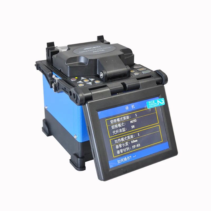 Joinwit JW4108S FTTH Fiber Optic Welding Splicing Machine Optical Fiber Fusion Splicer With Optic Fiber Cleaver