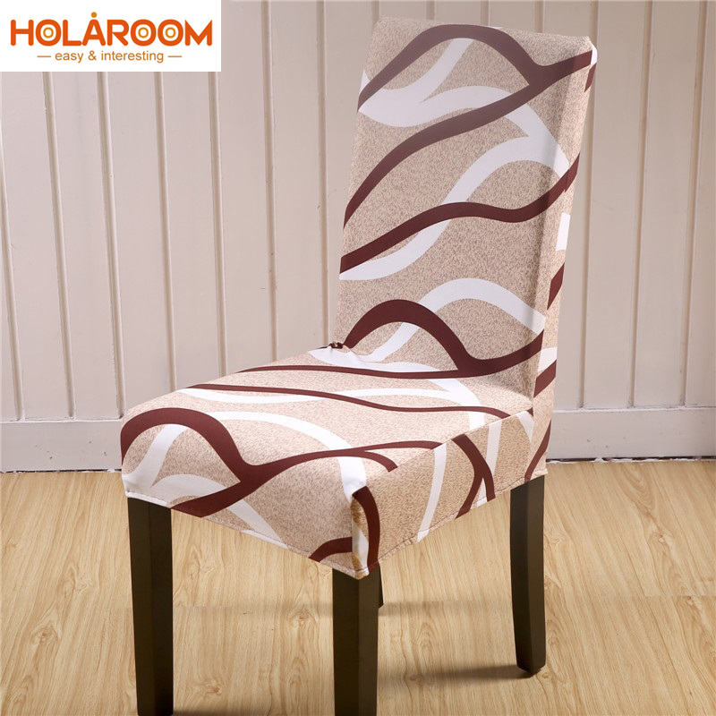 Modern Elastic Stretch Chair Cover Anti-dirty Dining Chair Cover Floral Office Computer Seat Cover For Restaurant Banquet Hotel