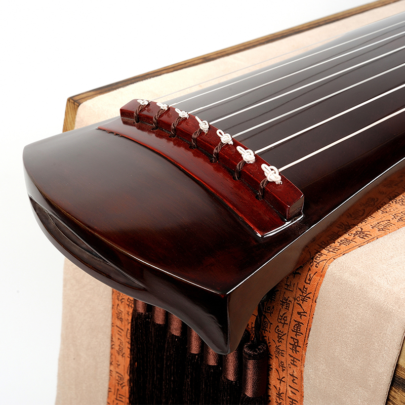 SevenAngel Chinese Fuxi Zhongni Guqin 7 strings Ancient Zither For Adult/Children Beginner Practice Guqin 100% Handmade musical-3