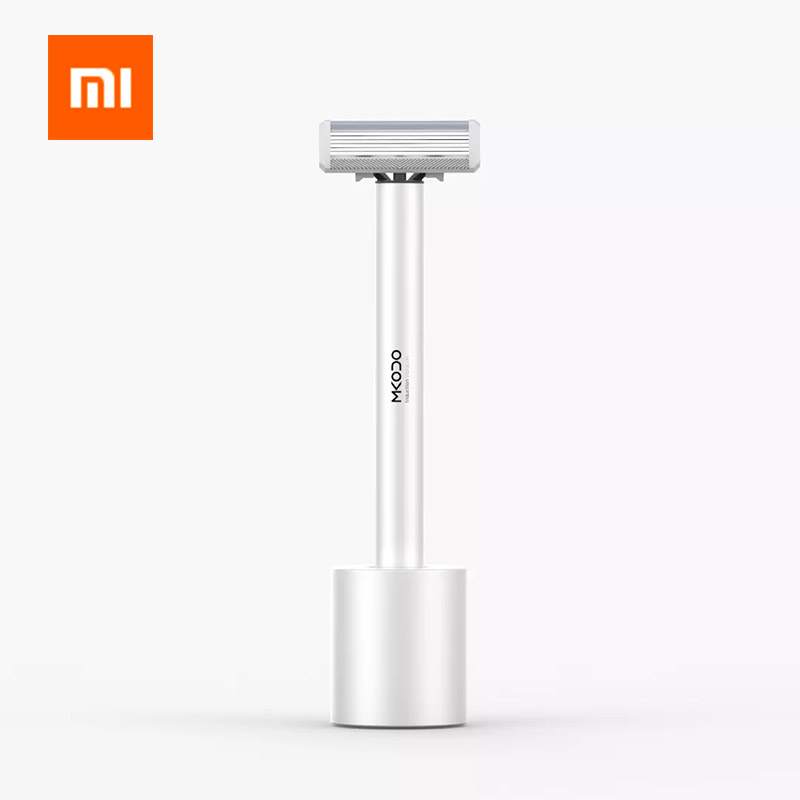 Xiaomi MKODO Shaver T1 Comfortable Efficient Shaving Induction To Open Hand From A Body Double Pattern Whole Aluminum Fuselage