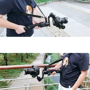 Image 2 - Carbon Fiber Extension Stick Rod Pole Tripod Hang Neck Straps Shoulder Belt Rope for DJI Ronin S Handheld Stabilizer Accessory