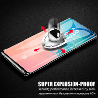 screen film liquid 10 PCS UV Liquid Curved Full Glue Tempered Glass With retail box For Samsung Galaxy Note 10 S10 S10 Plus Screen Protector Film (3)