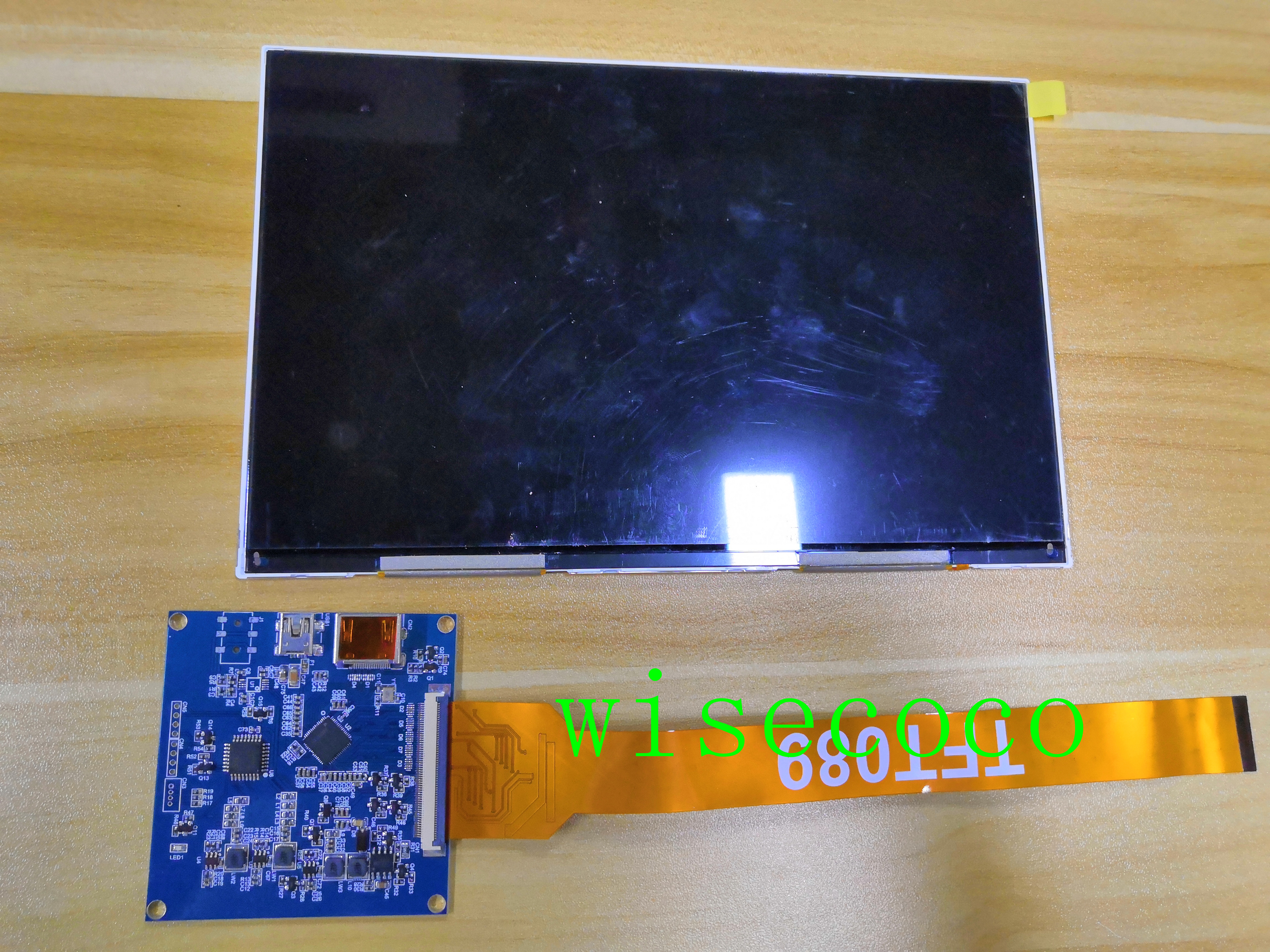 8.9 Inch 2560*1600 2k  IPS Lcd Display 16:10 Screen With HDMI MIPI Driver Board Raspberry PI 3 DIY DLP 3d Printer