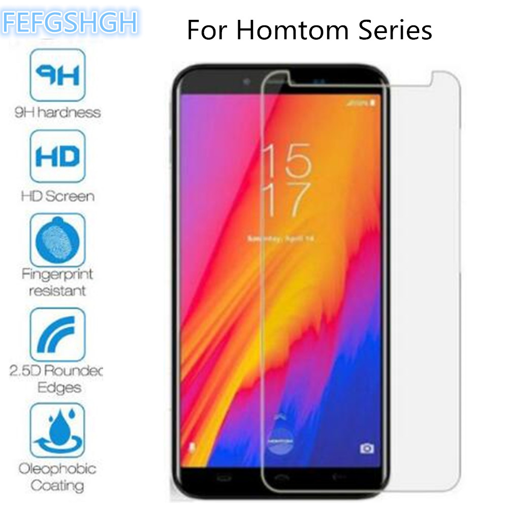 2PCS Tempered Glass For <font><b>Homtom</b></font> C1 C2 HT10 S17 S8 S7 C13 S12 S99 S99i HT16S Z6 Z8 <font><b>S16</b></font> C8 Screen Protector Protective Film image