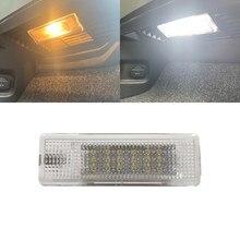 Novo 1pc branco 18 smd led bagagem tronco luz interior para vw golf 5/6/7 mk5 mk6 mk7 v/vi/vii jetta passat touran