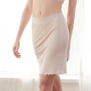 100 czysty jedwab damska seksowna bielizna sexy slip halki halki koszulka podkoszulek halka kobieta podkoszulek enagua majtki z niskim stanem tanie i dobre opinie Pearl Diary SILK Pół poślizgnięcia WOMEN YUYUE-51212