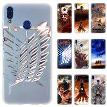 Attack on Titan wings Silicone Phone Case For Huawei Honor 3