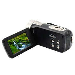 HDV-312P HD fotografia cyfrowa kamera 16X24 MP 720P profesjonalne kamery cyfrowe 2.7 calowy ekran TFT z ledowe światło wypełniające