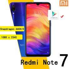 Xiaomi Redmi Note7 smartphone 6G 64G Snapdragon 660AIE Android Handy 48,0 MP + 5,0 MP hinten kamera
