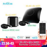 2020 Neueste Broadlink RM4 pro IR RF wifi UNIVERSAL-FERNBEDIENUNG Smart Home Automation arbeitet mit Alexa und Google Hause