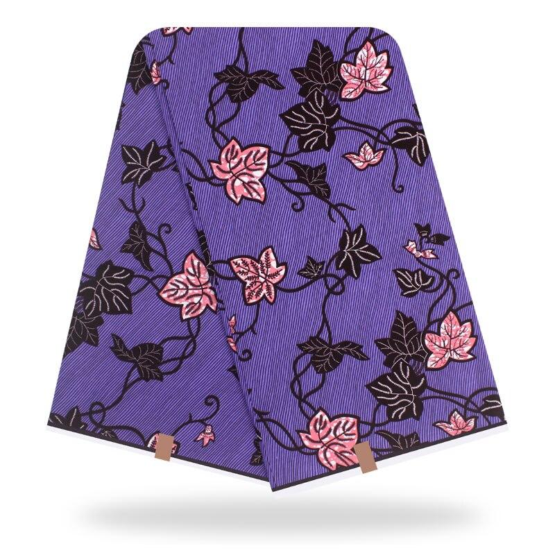 2020 Fashion Dashikiage New African Veritable Real Dutch Wax Fabric For Elegant Women Dress 100% Cotton Floral Print Wax Fabric