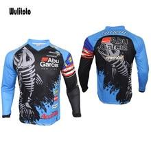 2021 ciclismo camisa de pesca de manga longa camisa de pesca respirável secagem rápida anti-uv ao ar livre camisa de pesca