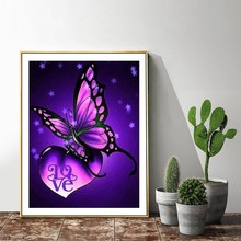 5D DIY Full Square Diamond Painting Animal Butterfly Mosaic Diamond Embroidery Decor Home Picture Of Rhinestone Handmade 5d diy full square diamond painting animal butterfly mosaic diamond embroidery decor home picture of rhinestone handmade