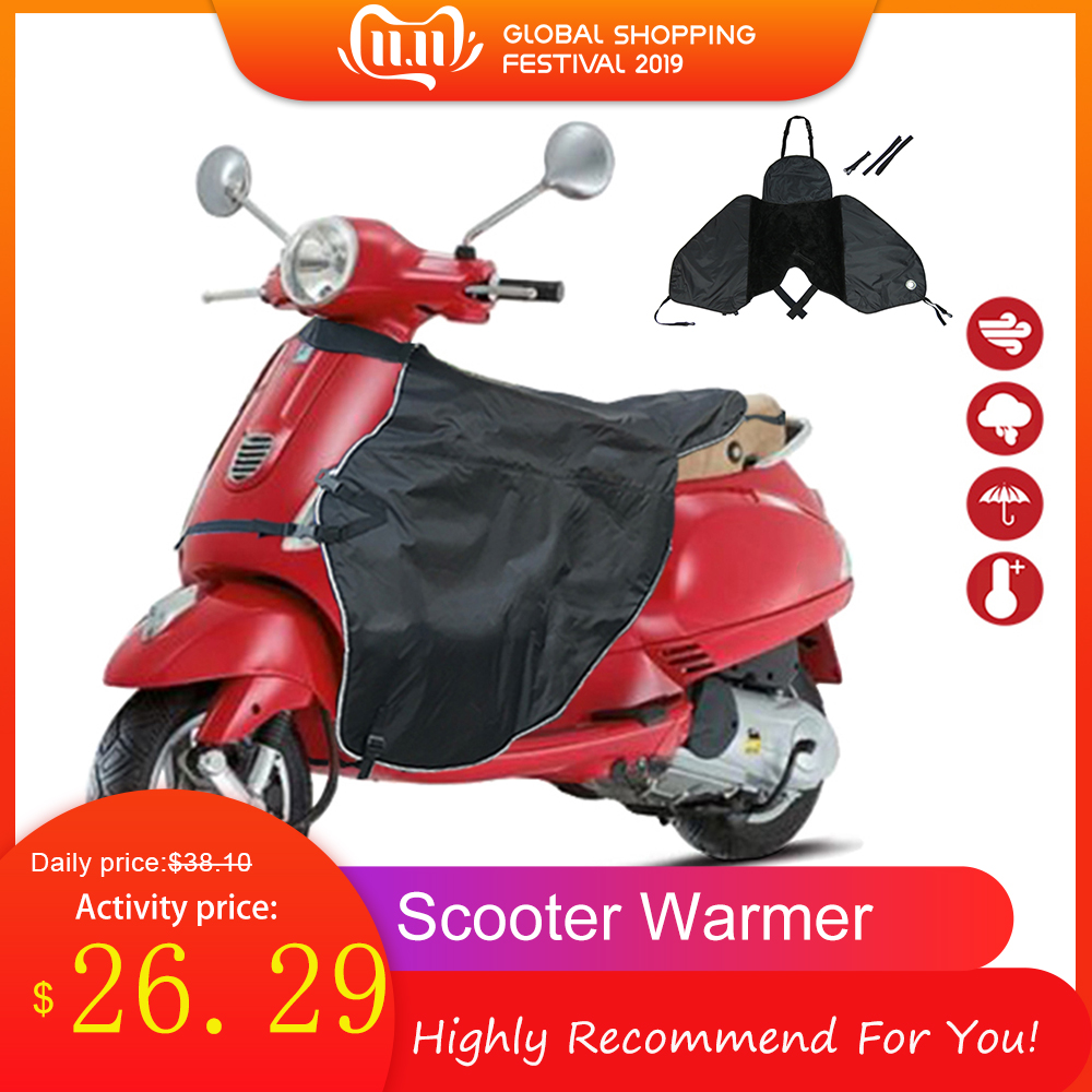 Universal Leg Covers For Scooters Motorcycle Windshield Cold Protector Winter Plus Velvet Thickening Increase Windproof Warmth