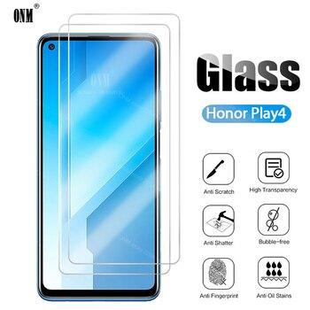 Перейти на Алиэкспресс и купить Закаленное стекло для huawei Honor Play 4, 3 шт., защитная пленка для экрана huawei Honor Play 4, 5g