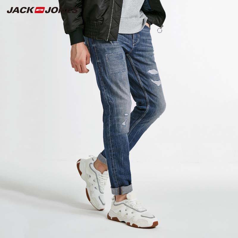 JackJones Winter Men's Fashion Trend Casual Jeans 218432515