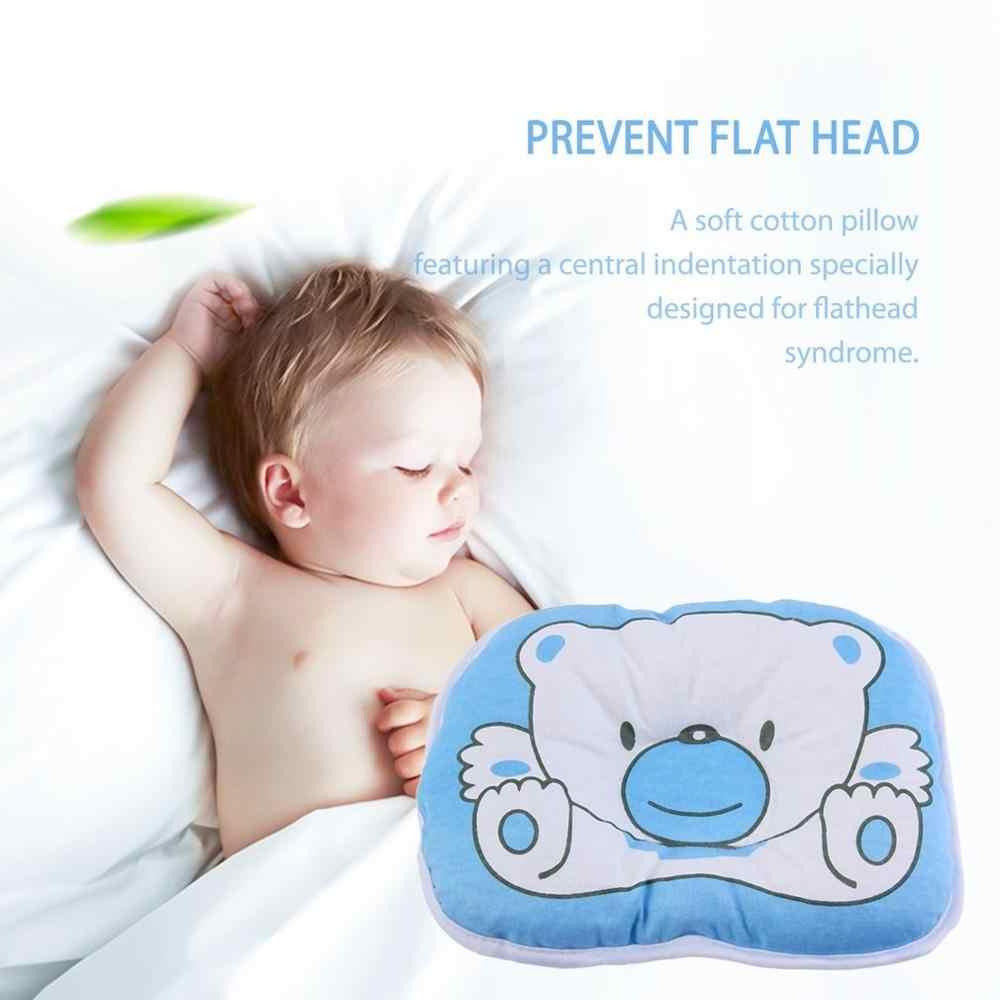 หมอนหมีน่ารักการ์ตูนรูปแบบหมอนทารกแรกเกิดทารกเบาะรองนั่งPadป้องกันผ้าฝ้ายหมอนสำหรับทารก