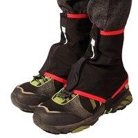 1 paar Wasserdicht Atmungsaktiv Fuß Hülse Outdoor Wandern Walking Klettern Jagd Trekking Schnee Abdeckung Legging Schützen Leg Covers auf
