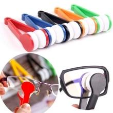 Eyeglass Cleaner Brush Screen-Rub Mini 1PC Microfiber Two-Side