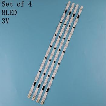New 4 PCS LED backlight strip for Samsung UE28F4000A ST2751A01 HG28EB460 2013SVS28H D2GE-280SC0-R3 BN96-25298A UE28F4000AKXRU