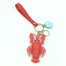 Брелки для ключей «Морская жизнь» милые трехмерные ПВХ Куклы