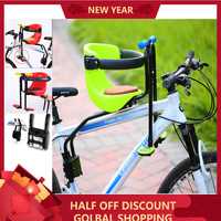 Mountain Road Children Bicycle Seat For Girl Boy Comfortable and Stable Bike Front Safety Chair Suitable: 0 6 Years Old Baby