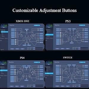 Image 4 - Переходник для мыши с клавиатурой, с разъемом для наушников 3,5 мм, настраиваемый конвертер кнопок для PS4, Xbox, один переключатель, аксессуары