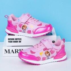 Dziecięce buty do biegania letnie trampki dziewczęce wygodne buty sportowe dziecięce lekkie śliczne księżniczki dziewczęce Scool Sneakers w Buty do biegania od Sport i rozrywka na