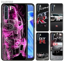 Awesome Car Engine GTR Black Silicone Case for Oppo
