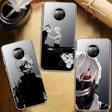 Tóquio ghoul japão suave caso de telefone transparente claro para xiaomi redmi nota 10 t 8 9 pro lite 11