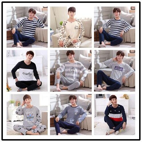 Mens Pajama Set  Men Pijamas Big Size  Mansleepwear  Pajamas Short Sleeve Short Pant