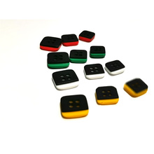 20PCS Shirt buttons DIY clothing accessories resin button 4 colors four sizes 9.0mm /10.4mm/12.5mm