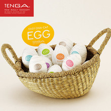 TENGA 6 EGG Series Masturbation Wavy Eggs Sphere Male Realistic Vagina Adults G-spot Sexy Toys Stimulating Penis Massager