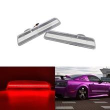 OEM подходит для Ford S197 Mustang 2005 2006 2007 2008 2009 светодиодный задний боковой габаритный указатель поворота лампа прозрачная/дымовая линза для автомобиля-Стайлинг