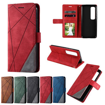 For XIAOMI 10 Ultra Case Wallet Card Slot Luxury Retro Flip Book Coque for Xiaomi 10 Ultra PU Leather Shockproof Cover Skin