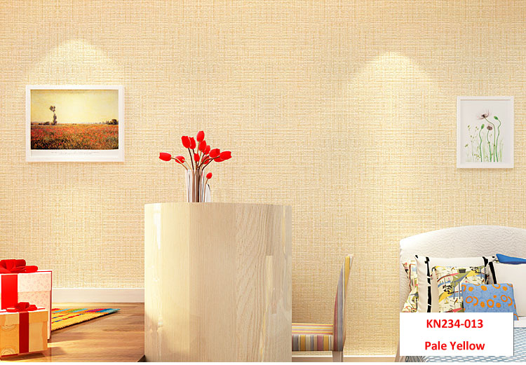Pale Yellow,multiple Color Wall Paper Modern Design Wallpaper Roll Home Decor