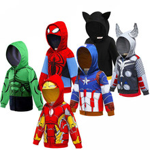 Boys Baby Cool superbohaterowie bluza z kapturem Cartoon bluza samochody dla dzieci ubrania wiosna jesień cienki płaszcz kurtka z kapturem dla dzieci do odgrywania ról