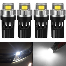 4pcs T10 W5W Led Bulbs 2SMD 2835 led Car Interior Clearance Lights For Jetta MK6 Tiguan MK4 Polo Passat B5 B6 CC Golf 4 4 5 6 7