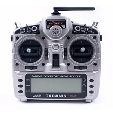 Newest FrSky Taranis X9D plus 16-channel remote control X8R receiver full two-way transmission flight transmitter Silver frsky horus x10s 16 ch rc transmitter mode 2 mc12plus gimbal aluminum packaging remote control for rc toy vs accst taranis q x7
