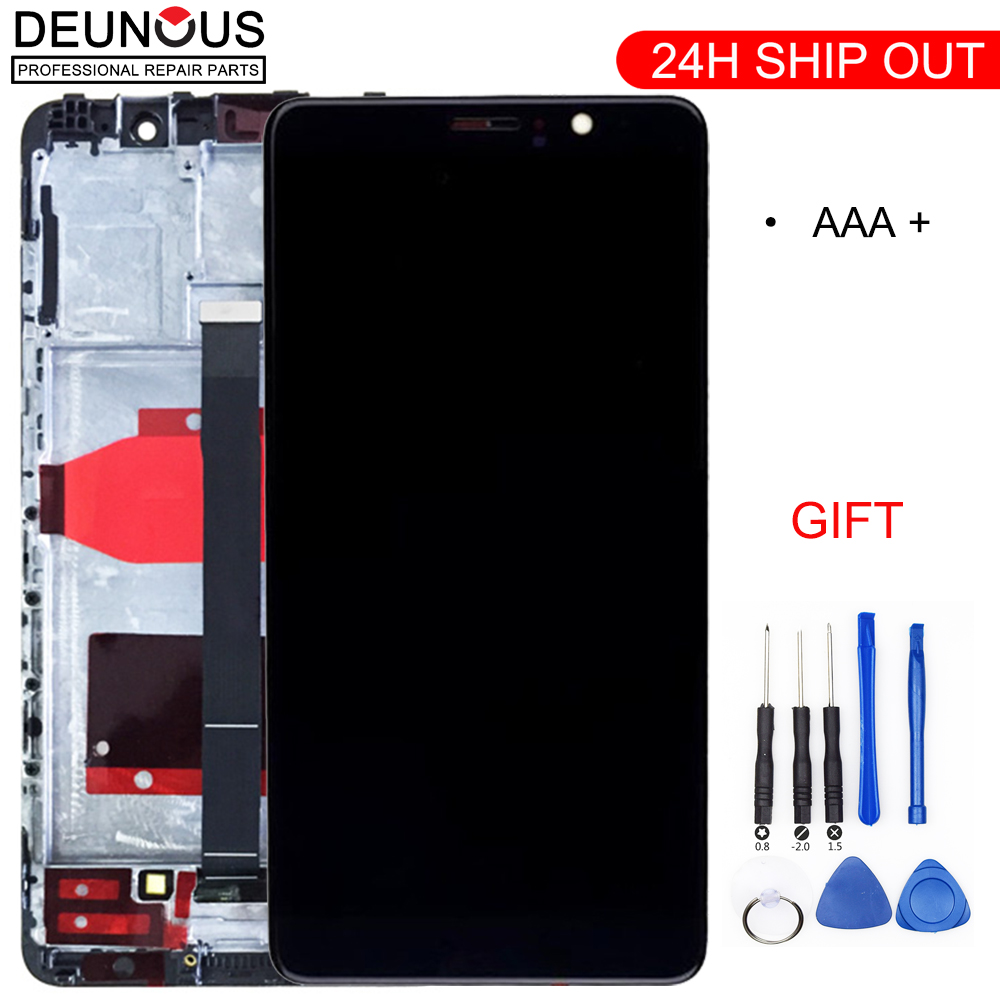 5.9'' New LCD For HUAWEI Mate 9 LCD Touch Screen Digitizer With Frame Display For Huawei Mate 9 Display MHA-L29 Replacement