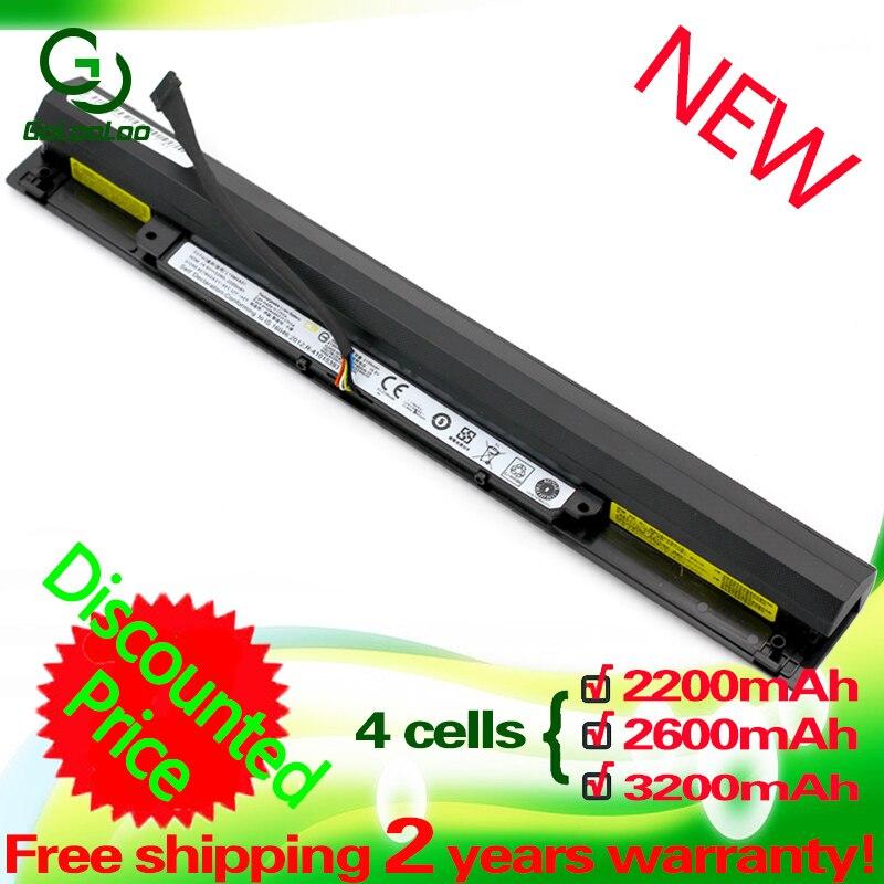 Golooloo 14.4V  2200mAh  L15S4A01 L15L4A01 L15M4A01 L15E4A01 Laptop  Battery For Lenovo V4400 Ideapad 100-15IBD