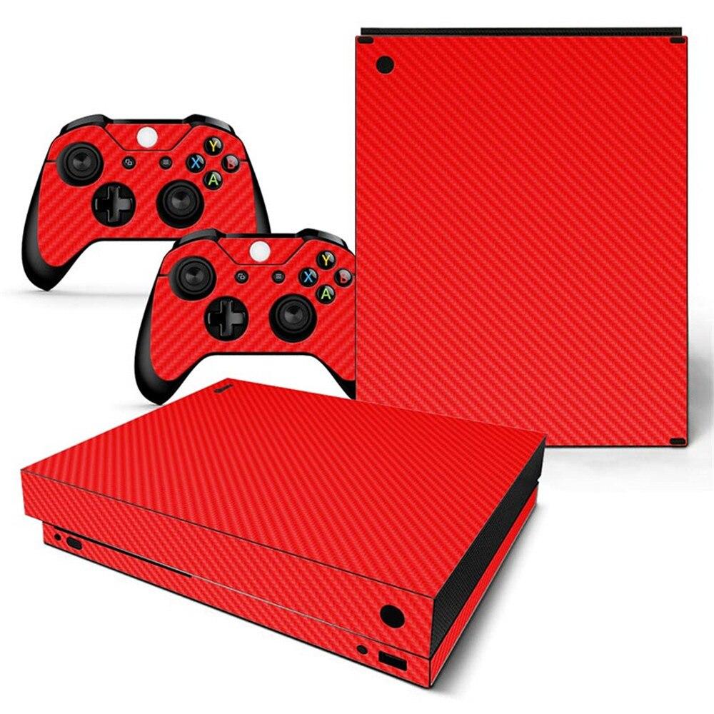 de pele decorativa para xbox um x console e controladores