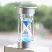 Практичный Настольный песочные часы, таймер, детская чистка, яркие песочные часы, таймер, домашние украшения для детей
