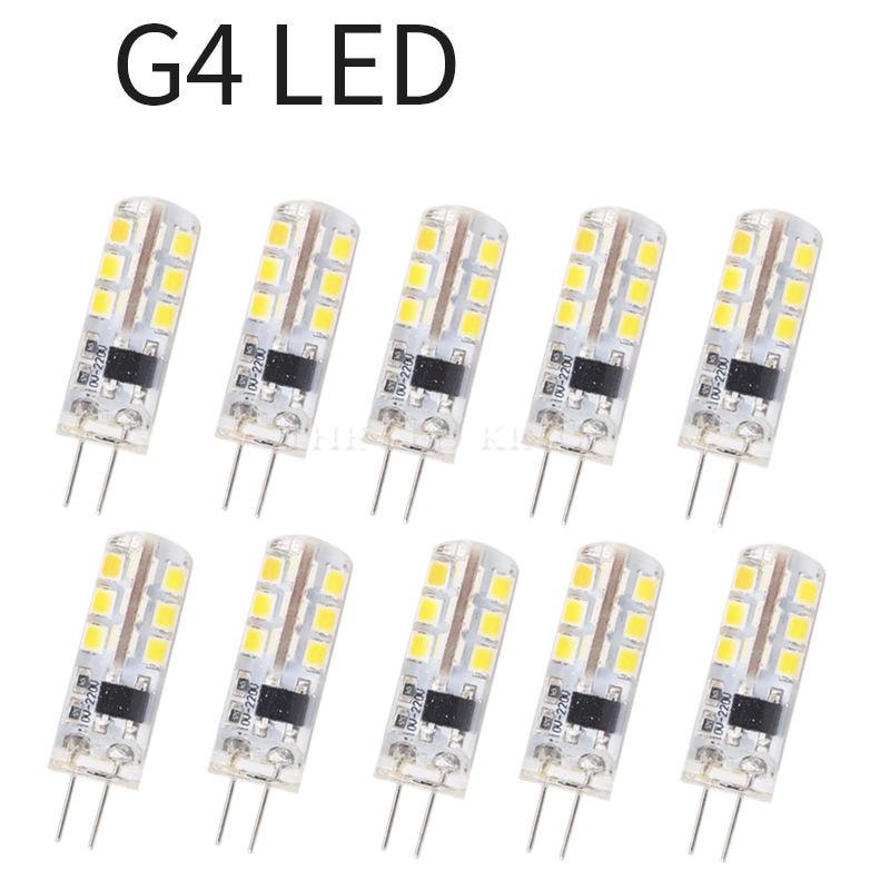 10 шт Мини G4 светодиодный светильник COB светодиодный лампы 3 Вт, 6 Вт, 9 Вт, 12 Вт AC/DC 12V светодиодный G4 светильник 360 Угол луча люстра светильник за...