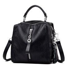 цена на Luxury PU Leather Handbags Women Bags Designer Fashion Shoulder Crossbody Bag sac a main femme de marque luxe cuir 2019