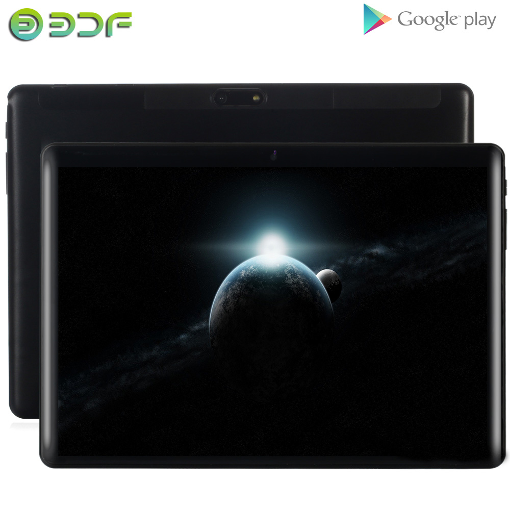 10.1 Inch Tablet Android 7.0 Quad Core 1GB RAM 32GB ROM IPS Screen WiFi Bluetooth GPS Tablet PC Mobile Phone SIM Card